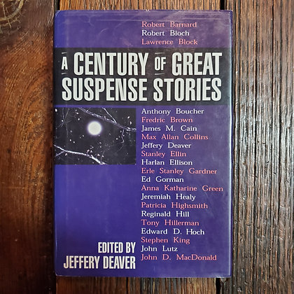A CENTURY OF GREAT SUSPENSE STORIES - Hardcover Book