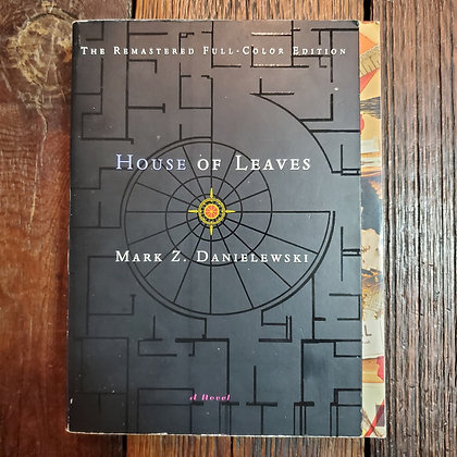 Danielewski, Mark Z. : HOUSE OF LEAVES - Softcover Book