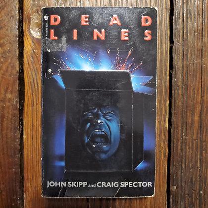 DEAD LINES by John Skipp & Craig Spector - 1989 Paperback