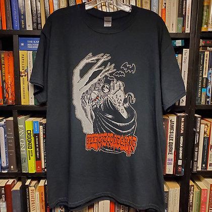 ILLICIT CONTEMPT - Large NEW Shirt (Art by @devilmandeathart )