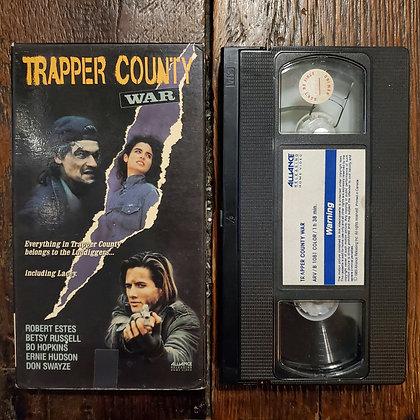 TRAPPER COUNTY WAR - VHS