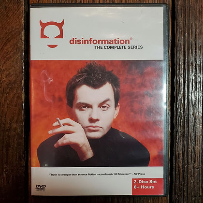 disinformation THE COMPLETE SERIES - 2 x DVD