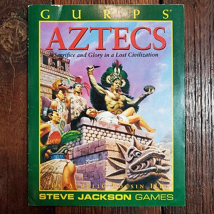 GURPS : Aztecs - RPG Book (Cover damaged)