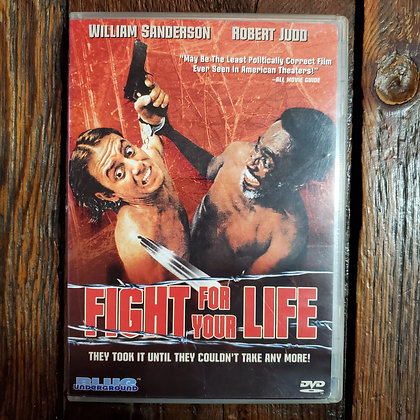 FIGHT FOR YOUR LIFE : Blue Underground DVD