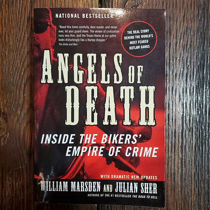 ANGELS OF DEATH Inside the Bikers' Empire of Crime - Softcover Book