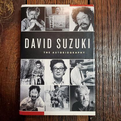Suzuki  David - The Autobiography (SIGNED Hardcover)