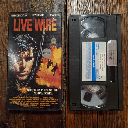 LIVE WIRE - VHS