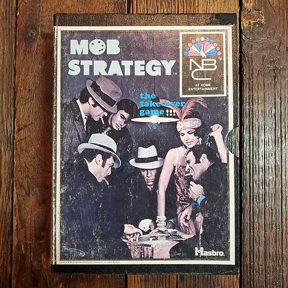 MOB STRATEGY Board Game 1969