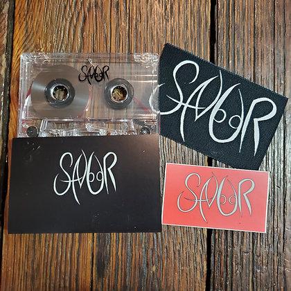 SNUR I & II - Local Cassette Tape, Patch & Sticker