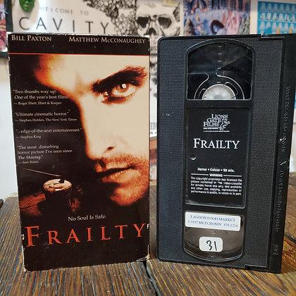 FRAILTY - VHS