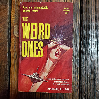 THE WEIRD ONES - Vintage Paperback