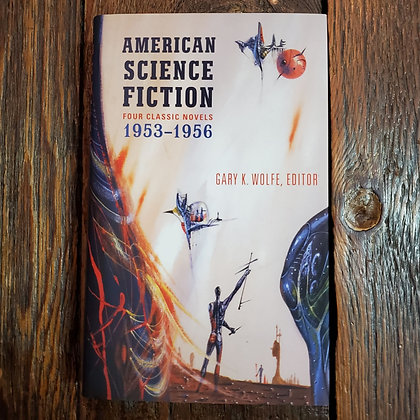 AMERICAN SCIENCE FICTION 1953-1956 (4 Novels)