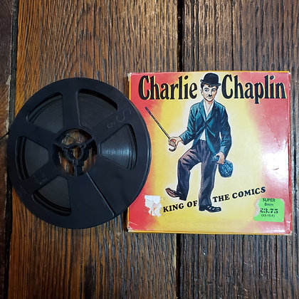 "CHARLIE CHAPLIN 8mm Film ""King Of The Comics"""