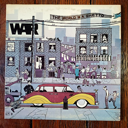 WAR : The World is a Ghetto - 1972 Vinyl LP