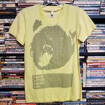 TWICE BITTEN NEVER SHY (Size Medium Shirt)