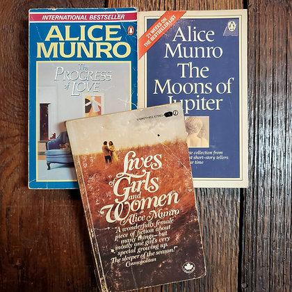 Munro, Alice - 3 Book Bundle
