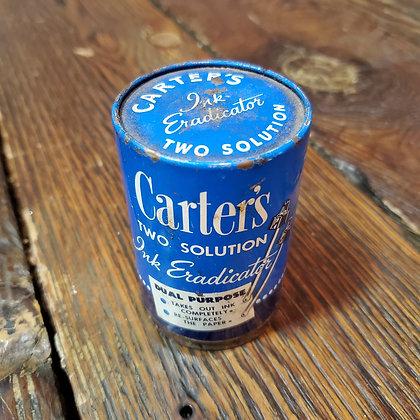 Vintage Carter's Ink Eradicator