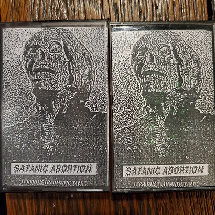 SATANIC ABORTION - Food For Dogs CASSETTE TAPE
