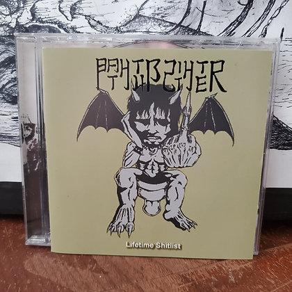 BATHTUB SHITTER - Lifetime Shitlist CD