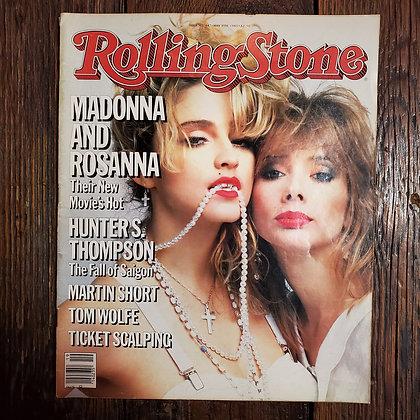 Vintage 1985 ROLLING STONE Magazine #447