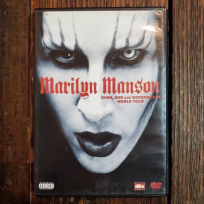 MARILYN MANSON Guns Gods and Government World Tour DVD