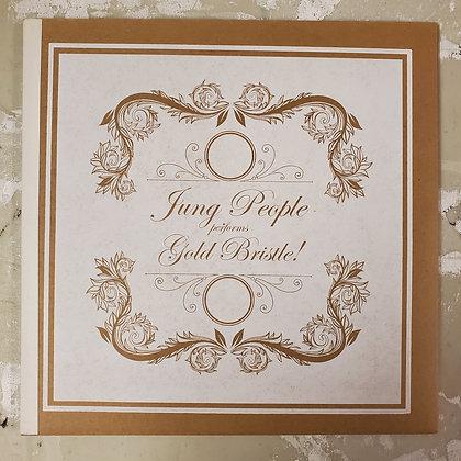 JUNG PEOPLE : Gold Bristle! - 2 x Vinyl LP inside Handmade Book