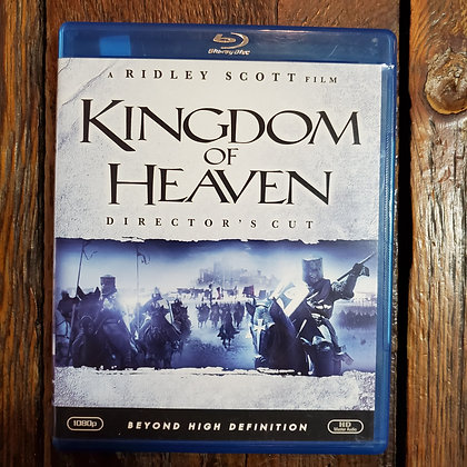 KINGDOM OF HEAVEN : Director's Cut - Bluray