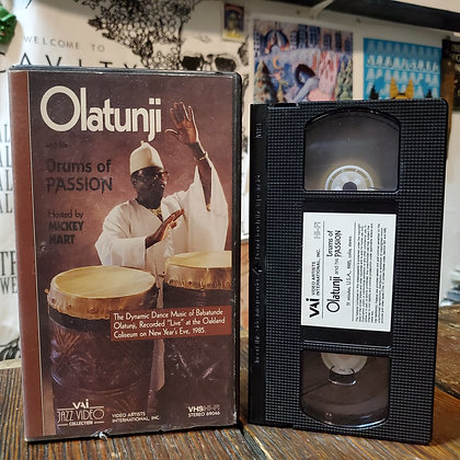 OLATUNJI Drums of Passion VHS