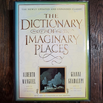 THE DICTIONARY OF IMAGINARY PLACES - Hardcover Book