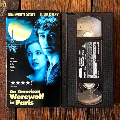 AN AMERICAN WEREWOLF IN PARIS - VHS