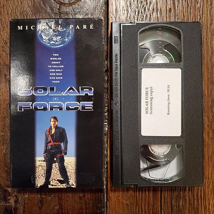 SOLAR FORCE - VHS
