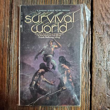 Long, Frank Belknap : SURVIVAL WORLD - 1971 Vintage Paperback