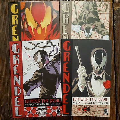GRENDEL #1,2,7,8 - Comic 4 Pack