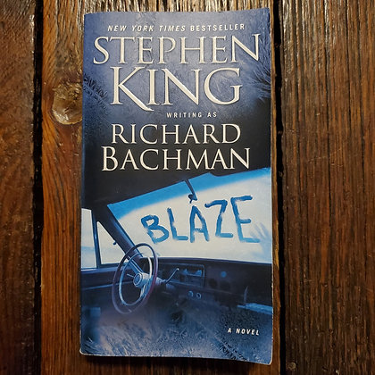 King, Stephen : BLAZE - Richard Bachman Paperback