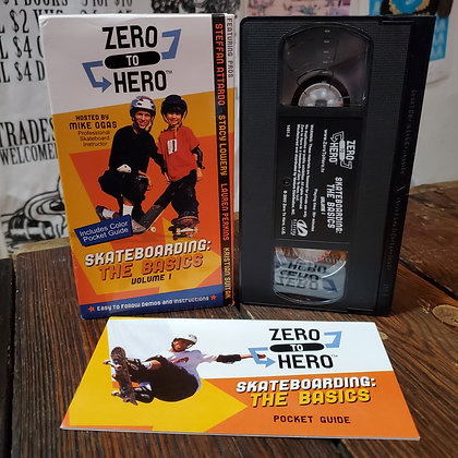 SKATEBOARDING : The Basics - Zero To Hero VHS