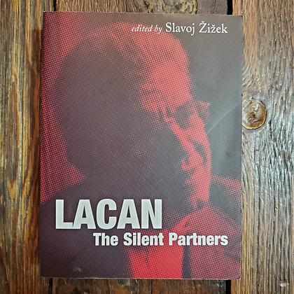 LACAN The Silent Partners Edited by Slavoj Žižek - Softcover Book