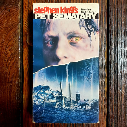 PET SEMATARY - VHS