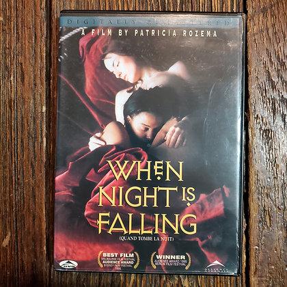 WHEN NIGHT IS FALLING DVD