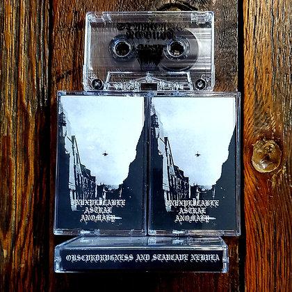 STARCAVE NEBULA / OBSCVRDRVGNESS  - Cassette Tape (Ltd. 50 Copies)