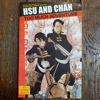 HSU AND CHAN Too Much Adventure - Graphic Novel
