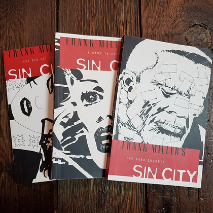 SIN CITY 6 PACK - #1 to #6