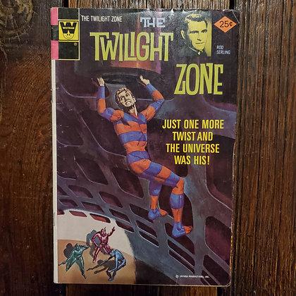 THE TWILIGHT ZONE #68 - Vintage 1976 Comic Book