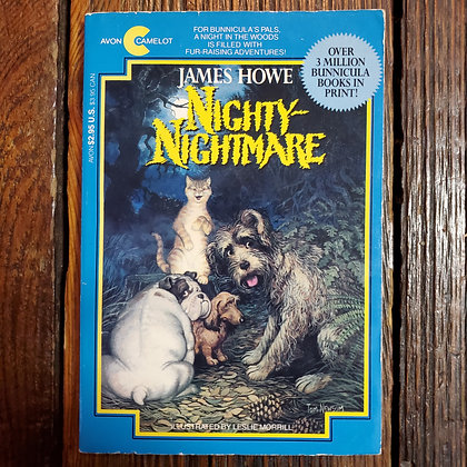 Howe, James : NIGHTY NIGHTMARE - 1988 Softcover Book