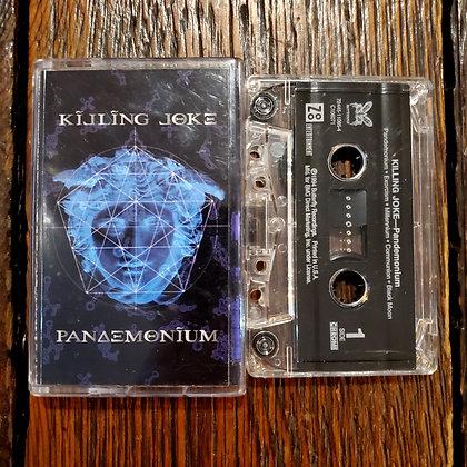 KILLING JOKE : Pandemonium - Cassette Tape