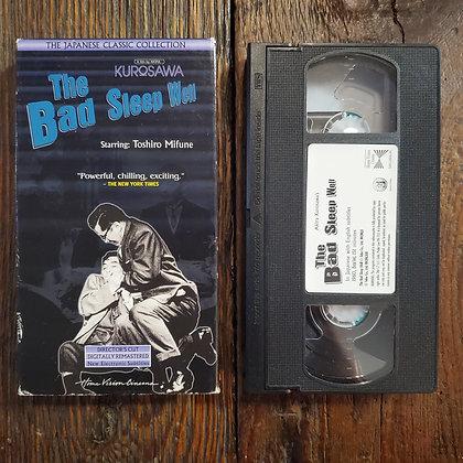 THE BAD SLEEP WELL - VHS