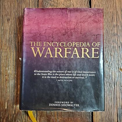 THE ENCYCLOPEDIA OF WARFARE Dennis Showalter (Hardcover Damaged jacket 2014)