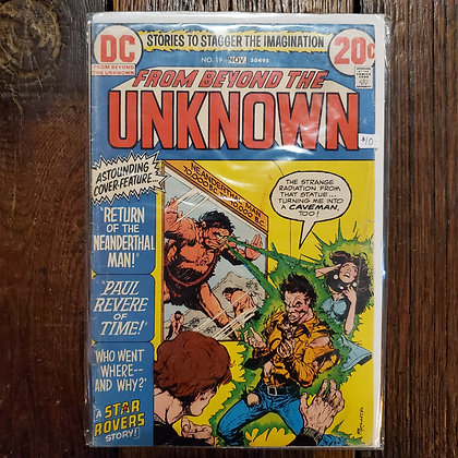 FROM BEYOND THE UNKNOWN #19 - Vintage Comic Book