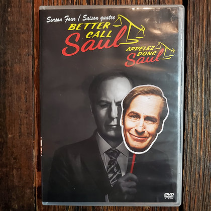 BETTER CALL SAUL Season Four DVD