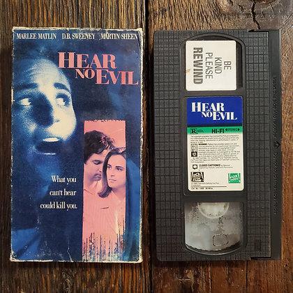 HEAR NO EVIL - VHS