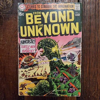 FROM BEYOND THE UNKNOWN #1 - Rare Vintage Comic Book